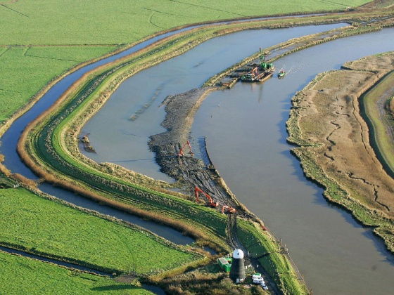 20-year Broadlands flood alleviation scheme