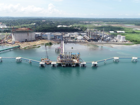 Costa Norte LNG jetty