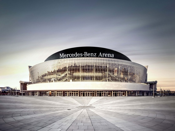 Mercedes-Benz Arena (formerly O2 World)