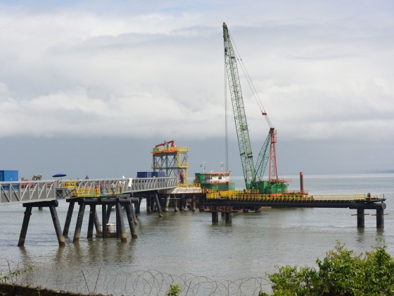 Oryx petroleum jetty