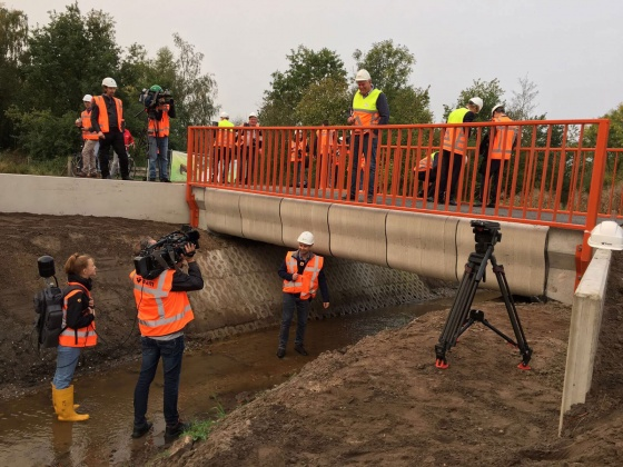 Bypass Gemert Noord-Om – From 3D printed bridge to slide-in roundabout