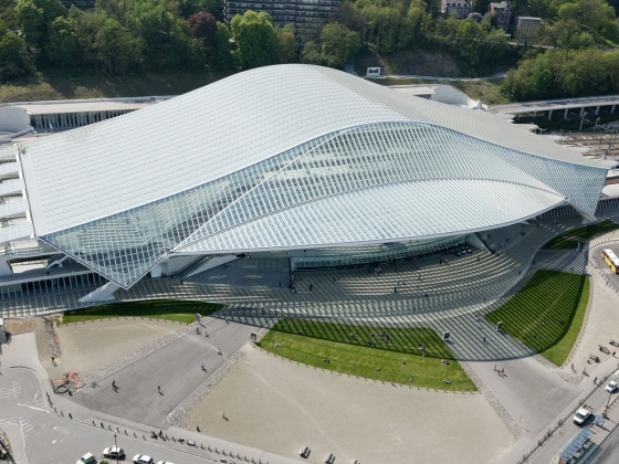 Luik Guillemins railway station