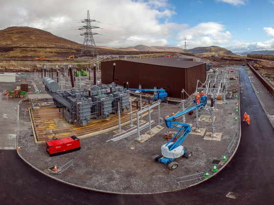 SSE energy substations