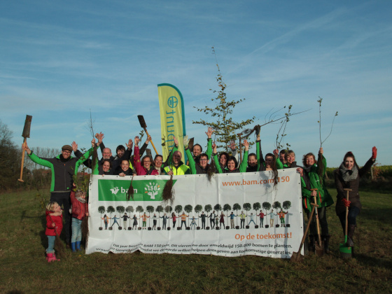 #BAM150 adds 1.5 hectare to Belgian woodland