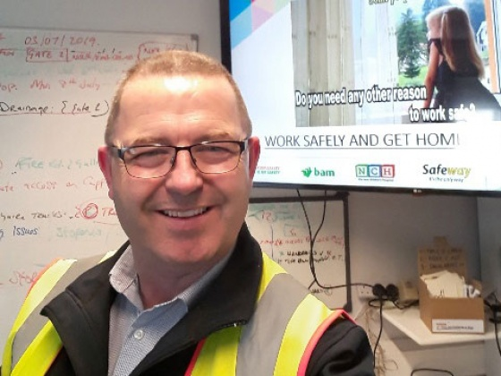 Jim Kennedy: 'Promote a positive safety culture'