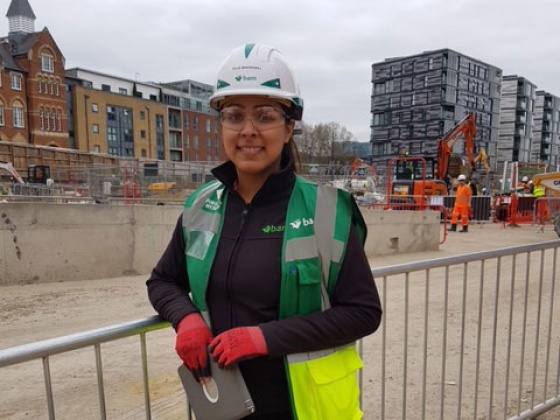 Puja Bhardwaj: 'People go out of their way to make me feel welcome as a woman in construction'